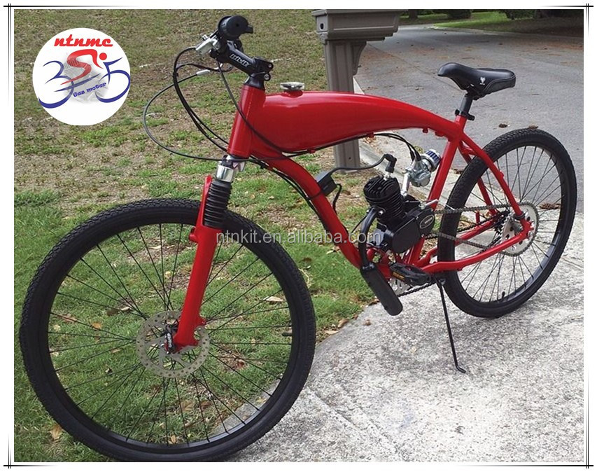 Red Color Of Ntn Bicycles Ntn Gas Tank Built Frame