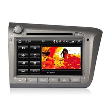 8 Inch HD Touch Screen Car In-Dash DVD Player 2 Din Car PC Stereo Head Unit GPS Navigation+Bluetooth+Radio+Multimedia System