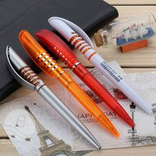 Good selling cheap promotional plastic ballpoint pen with custom logo