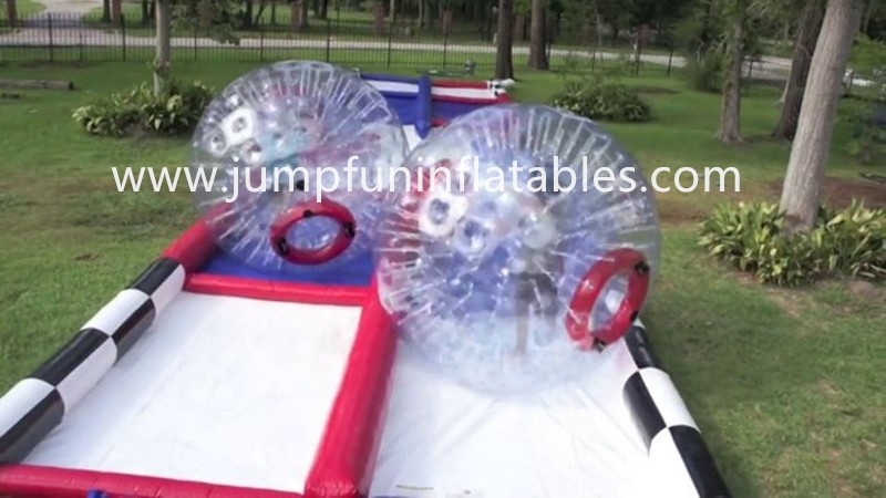 0.55mm thick PVC Zorb Ball Race Track/Inflatable Race for Zorb Ball