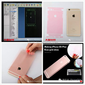 Making Mobile Skin Software With Latest Phone Cutting Templates For Iphone 6 6s Case