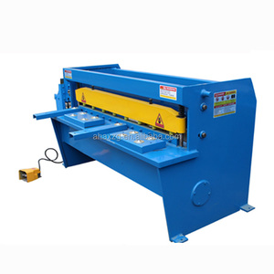 Motor Operated fast working speed Electric Guillotine Shearing Machine, Plastic Cutting Machine Guillotine