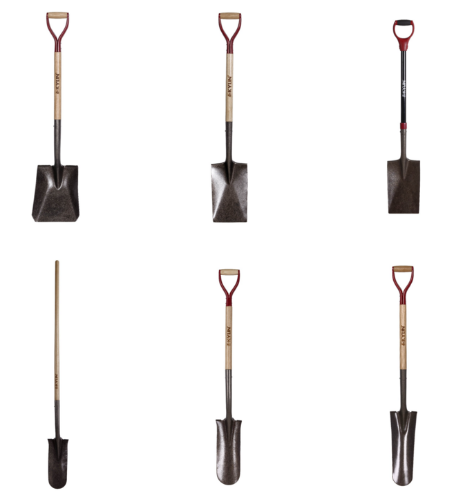 Different types of shovels digging tools names spade buy for Garden hand tools names