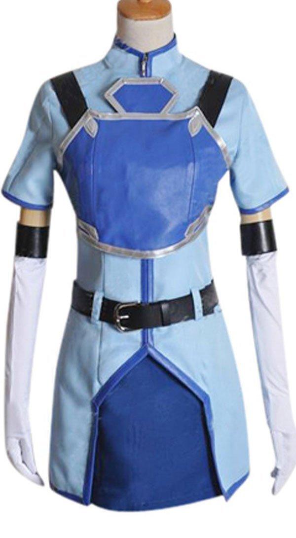 Get Quotations · FOCUS-COSTUME Sword Art Online Sachi Suit Cosplay Costume e0fa7e2c7317