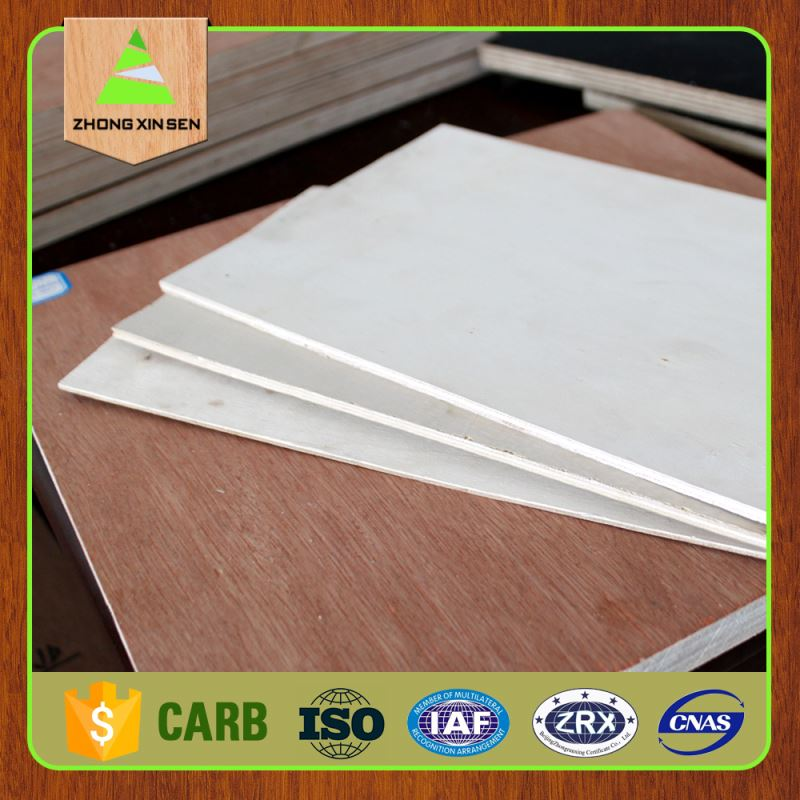 chinese white poplar plywood for paper and vinly lamination