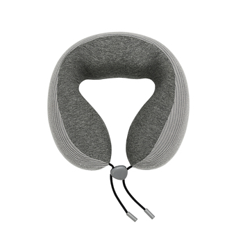 Custom Foldable Ergonomic Orthopedic Chin Neck Support Pillows U Shaped Airplane Memory Foam Travel Pillow