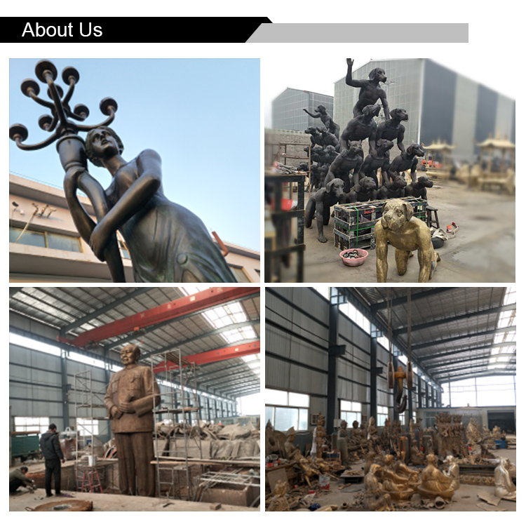 Hoge kwaliteit outdoor cijfers brons zitten man sculptuur
