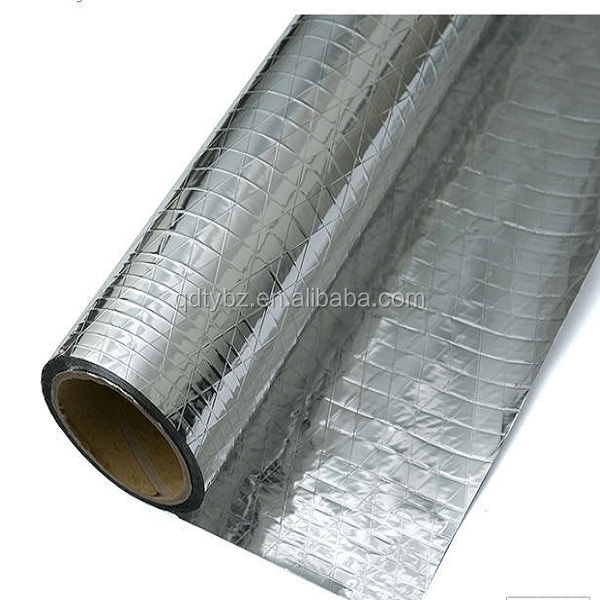 PET Foil scrim kraft, the backing aluminum foil for building construction usage