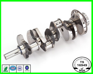 China supplier diesel engine parts engine crankshaft of low price for sale