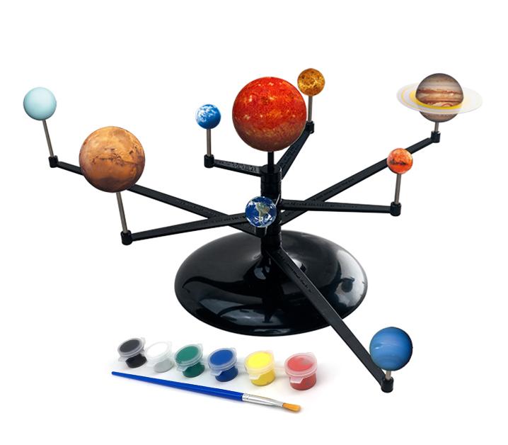 DIY School Lesson Educational Toys of Solar System Planetarium Kids