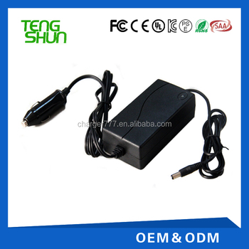 24v dc input 14.6v 2a 16.8v 1.5a dc output lifepo4 battery pack car charger