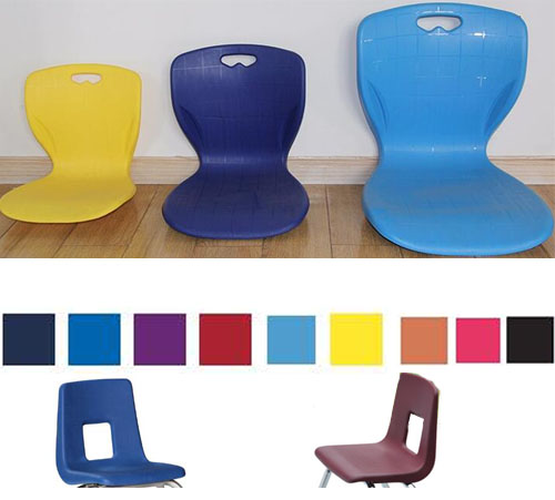 Quality assured plastic stable chair cheap price and durable school furniture