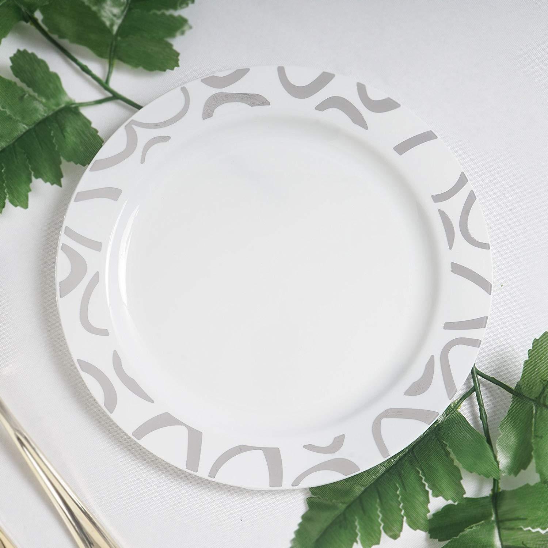 Cheap Silver Trim Plastic Plates Find Silver Trim Plastic Plates