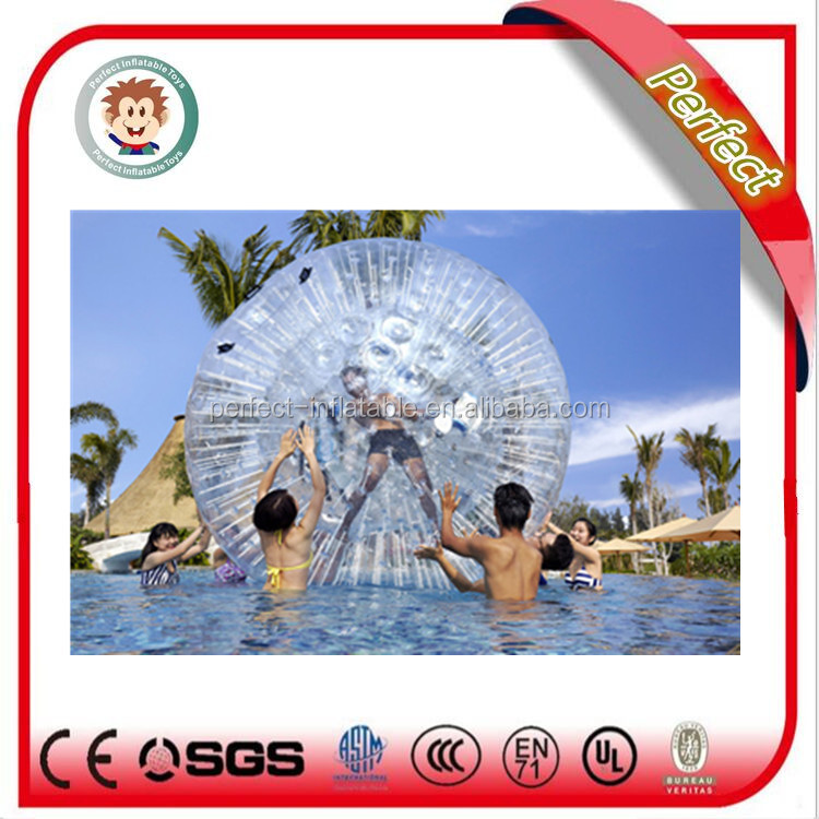 2017 popular and hot sale human bubble ball, inflatable bubble ball, water bubble ball
