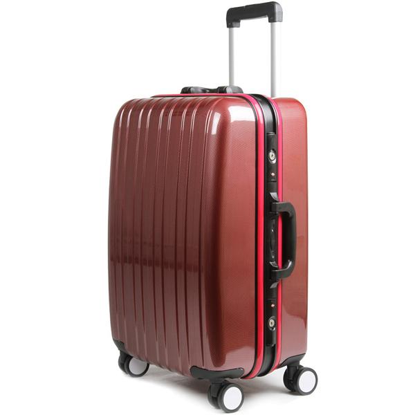 Trolley Bag Type Abs Material Black Color Luggage Bag,Aluminium ...