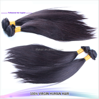 Popular fashion tangle free no chemical unprocessed virgin remy extensions sensationnel human hair