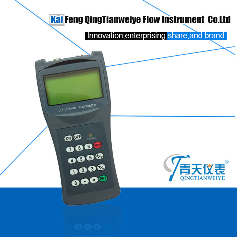 TDS-100H Handheld utrasonic Rs232 flow meter