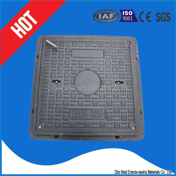 fiberglass water well covers FRP Deck Grating Polymer Electrical Manhole Covers