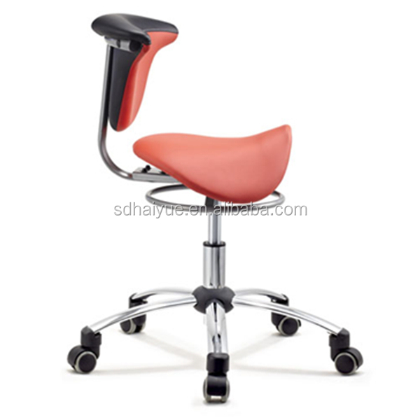 New Red PU Leather Ergonomic Dental Saddle Stool Leather Saddle Bar Stool Dental Chair  sc 1 st  Alibaba & New Red Pu Leather Ergonomic Dental Saddle StoolLeather Saddle ... islam-shia.org