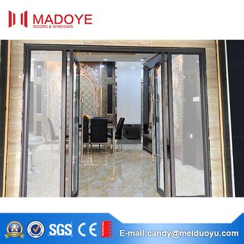 Commercial Use Aluminium Glass Double Entry Doors Buy Aluminium