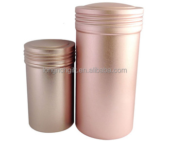 Wholesale Aluminum Candle Tin With lid