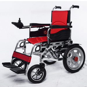 Cheap Price Motorized Folding Power Motor Foldable Big Wheel Electric Wheelchair For Disabled People
