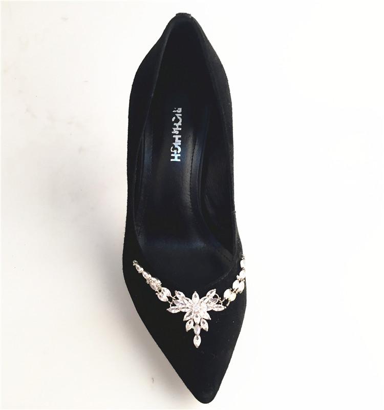 Arrival Dress Shoes Shoe Heel in High New 2017 Leather Women wZt4t