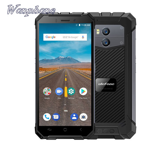 Rugged Smartphone Ulefone Armor X Waterproof IP68 5.5 HD Quad Core Android 8.1 NFC Face ID Wireless Charge Phone""