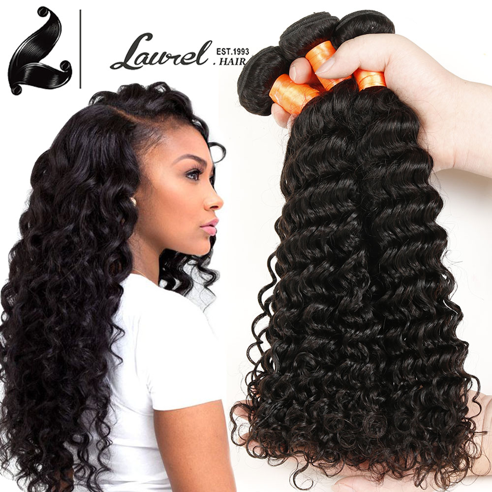 2016 Mocha Hair Products Cheap 7A Brazilian Virgin Hair 4 Bundles Brazilian Deep Wave Raw Curly