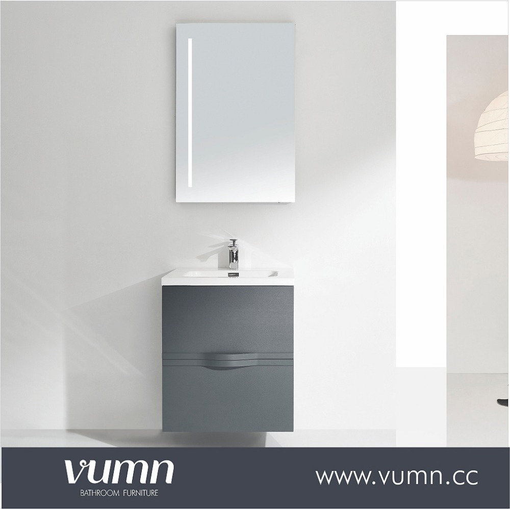 Homebase bathroom cabinet vanity make up mirror with led light made in china