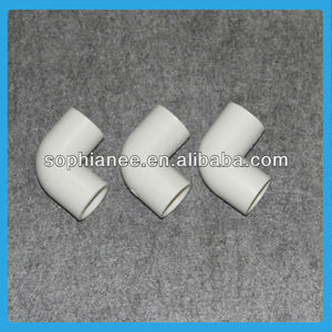 Hot PVC Pipe Fittings 90 Degree Electrical Conduit Elbow
