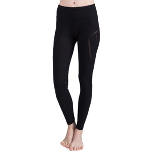 Ladies Yoga Clothes With Mesh,Yoga Pants With Pocket New Design