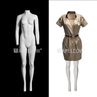Fiberglass Popular Store Female Full Body Invisibility Ghost Mannequin for Show Cloth Window Display Women Removable model GH11s