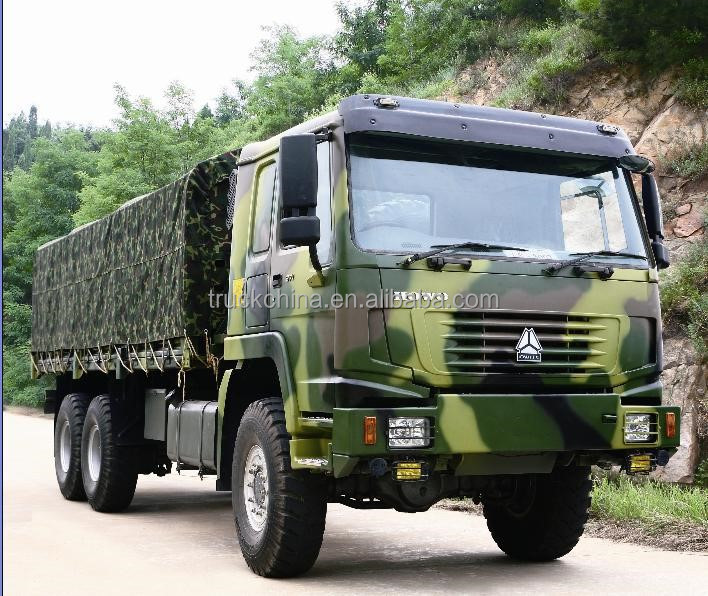 China Brand SINOTRUK HOWO 4x4 Truck 8x8 Military Truck for sale