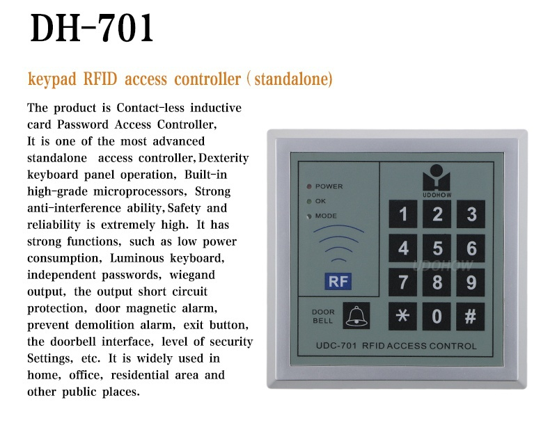 Standalone Access Controller System For Single Door Access - Buy Single  Door Access,Standalone Access Controller System,Standalone Rfid Access  Control