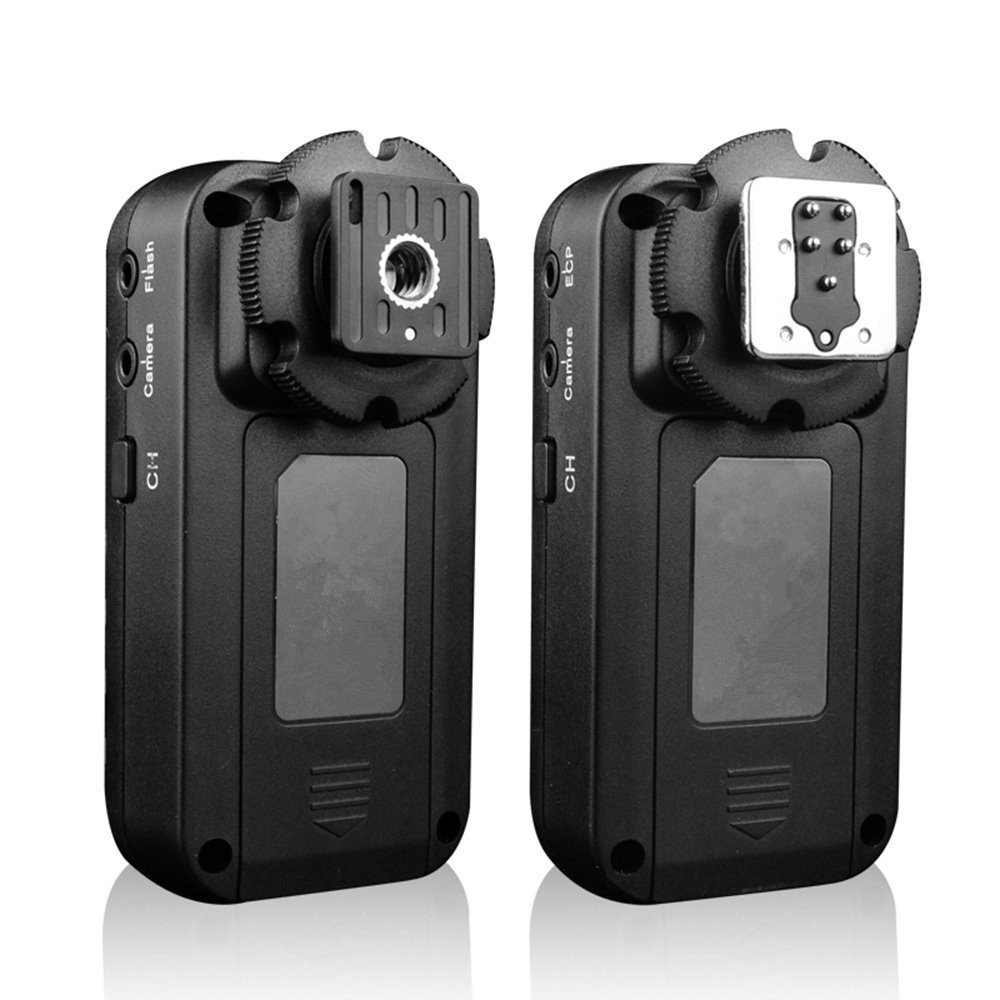 GF650C 2.4GHz Wireless Grouping Flash Trigger 120 Metres 3 Groups 7 Channels with TTL Pass-through for Canon(With Wireless Shutter Remote Control Function)