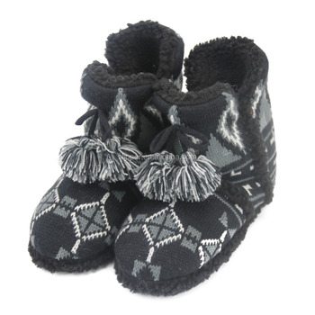Knit Slipper Boot Laides Indoor Boot Cable Knit Boot Buy Knit