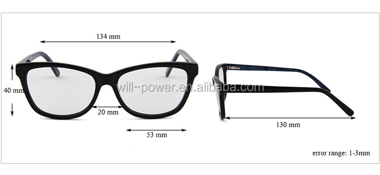 New Product China High Quality Acetate Optical Frames With ...