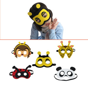 Special Hot sell Amazon Monkey Panda Face Masks for Birthday Party Decorations
