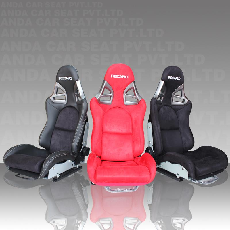 reclinación de la marca recaro carrera asiento de coche para la ...