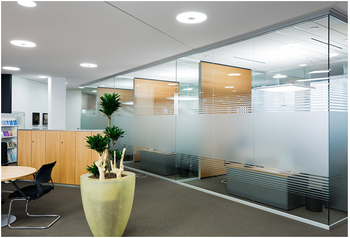 Wood Partition high tech lobby partition design wood partition with frame less