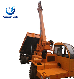 Engineering telescopic boom small hydraulic 8 ton truck crane