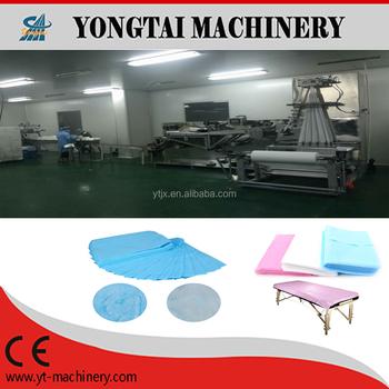 Medical Spunbond Bed Sheet Folding Machine