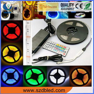 Eco friendly LED 5050 strip light for outdoor decoration,silicone waterproof flexible led strip