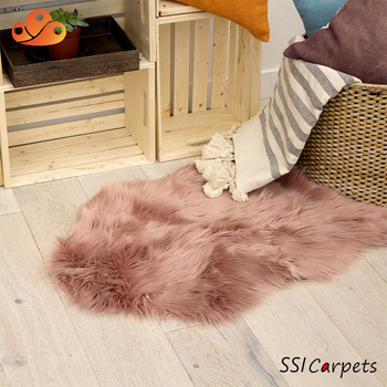 Home Use Large Faux Fox Fur Rug
