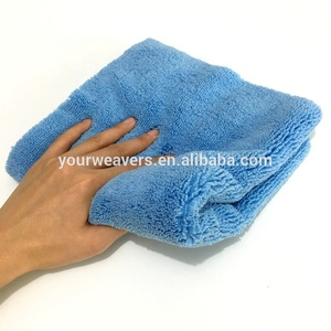 2019 450GSM Ultra Plush Long Medium Pile Microfiber Cloth Edgeless Microfiber Wash Towel Car Buffing Polishing Cleaning Cloth