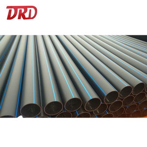 PE 100 PN10 PN 16 6 inch 160mm HDPE pipe prices plastic pe water pipe