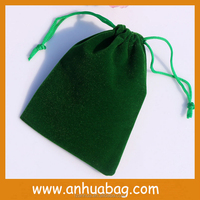 Factory Own Your Logo Wholesale Custom Small Velvet Jewelry Bag