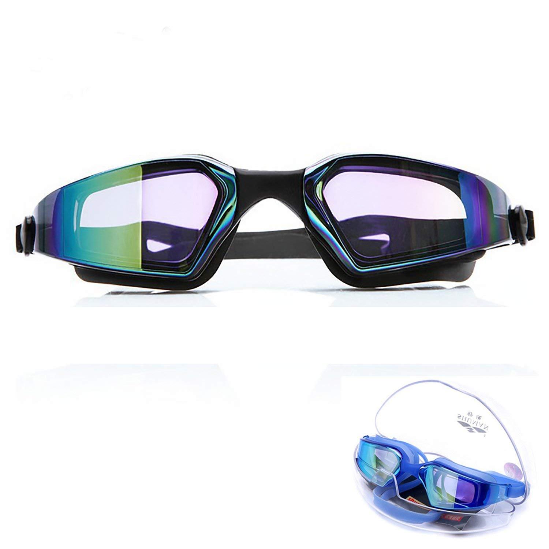3b91380b41c7 Get Quotations · June Sports Swim Goggles Adults