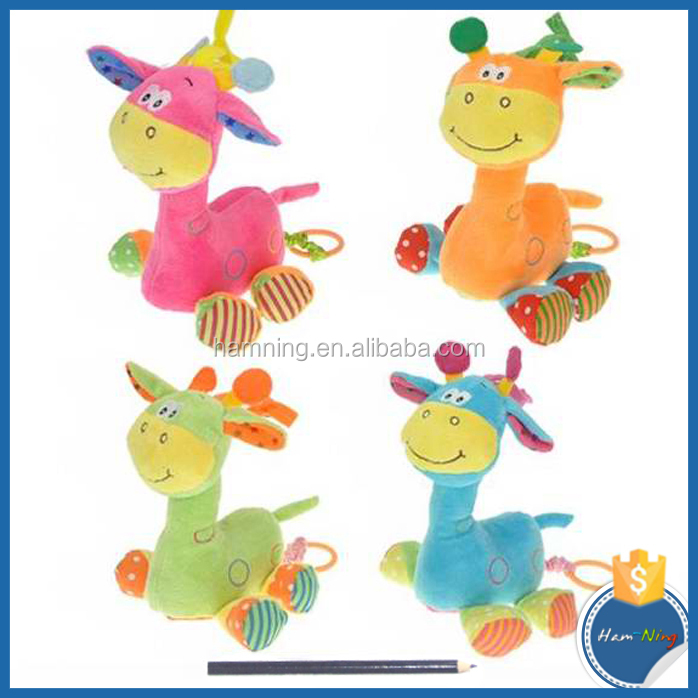 happy baby bedtime toy mini giraffe toy